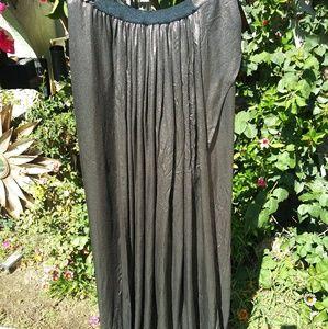 Haider Akerman Silk Skirt. Made in Belgium